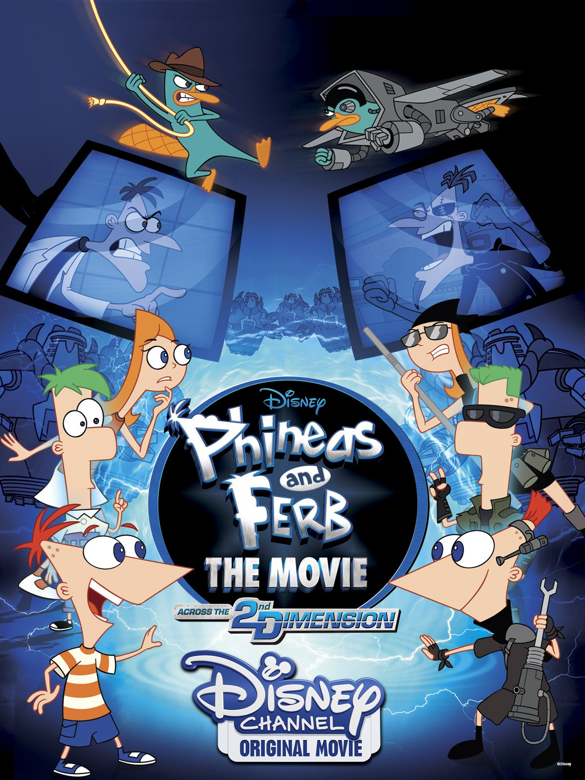 Phineas and Ferb the Movie Across the 2nd Dimension (2011)